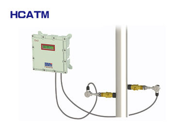 Easy Operation Lightweight Ultrasonic Liquid Flow Meter Supporting Multi Language