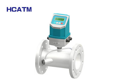 Ultrasonic Portable Flow Meter Transducer With Backlit LCD Display