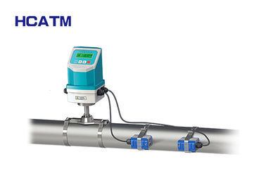 High Accuracy Ultrasonic Liquid Flow Meter Flame Retardant ABS Housing Material