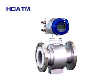 Digital Flange Electromagnetic Flow Meter 4-20mA With High Accuracy