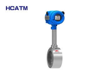 304 Stainless Steel Vortex Air Flow Meter With Excellent Vibration Resistance