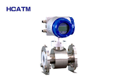 Digital Flange 4-20mA Electromagnetic Flow Meter With High Precision