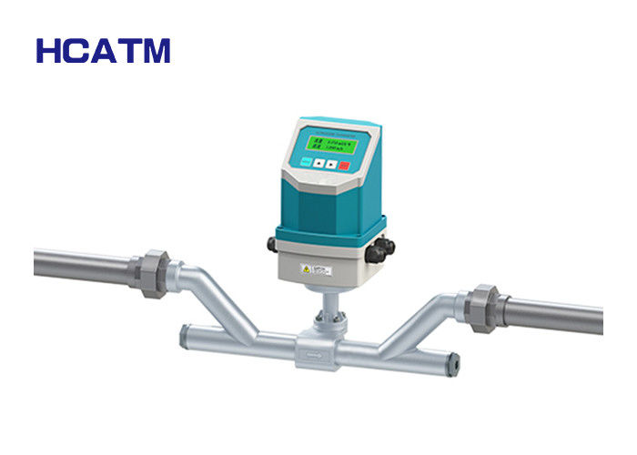 Good Stability Handheld Flow Meter , LCD Display Ultrasonic Flow Transducer supplier