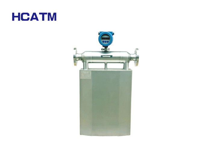 High precision stable liquid gas 220V AC 4~20MA  Liquid Gas Coriolis mass flow meter