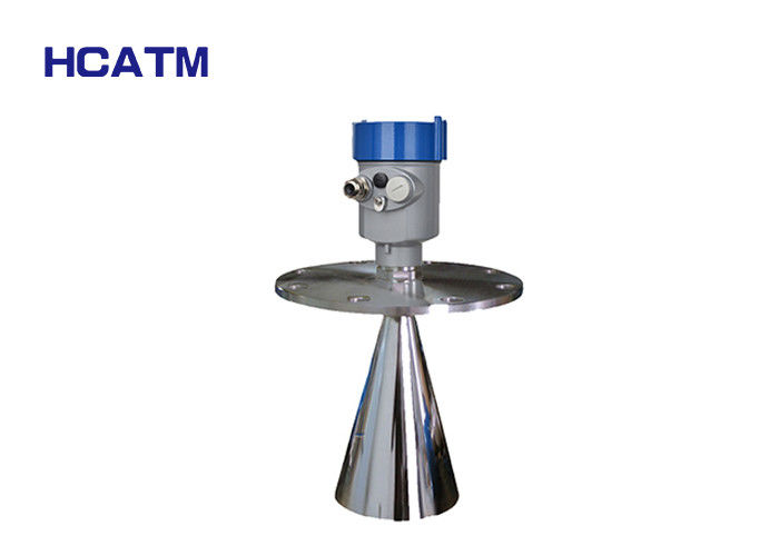Flange Mounted Ultrasonic Level Transmitter Corrosion Resistant Solid Liquid Particles supplier