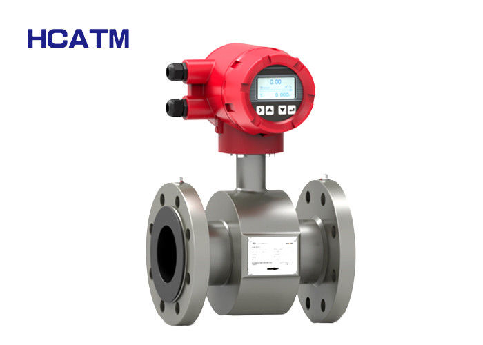 Fully Intelligent Electronic Magnetic Flow Meter Reliable Performance