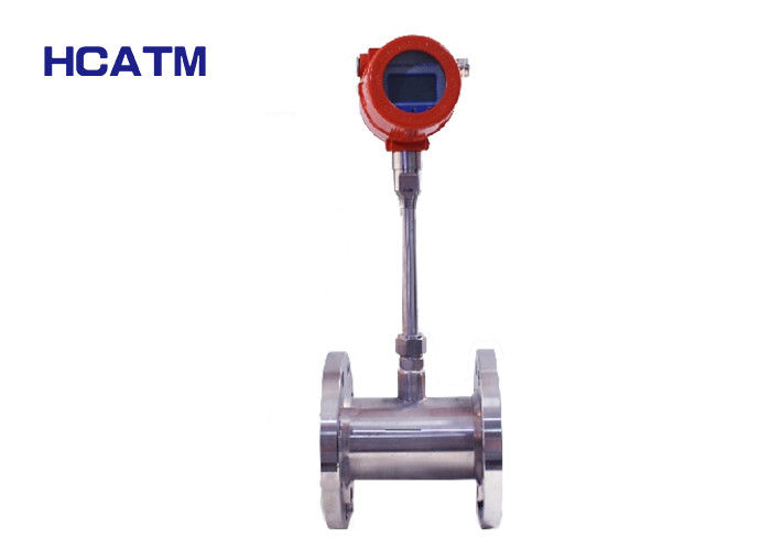 High Stability Thermal Gas Mass Flow Meter , Easy Using Thermal Flow Transmitter