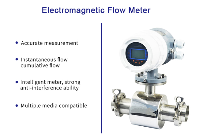 Clamp Type Electromagnetic Flow Meter Conductive Liquid Medium With High Precision 0